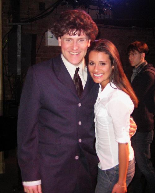 Jared Bradshaw, Lea Michele, Spring Awakening, Forbidden Broadway:  Rude Awakening