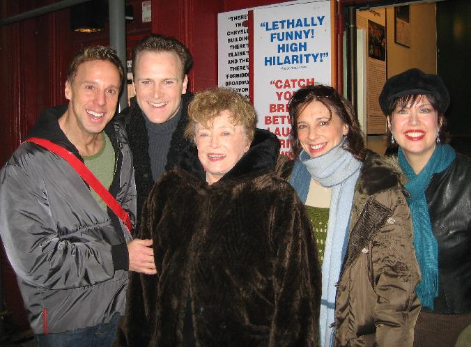 rue mclanahan, michael west, jared bradshaw, jeanne montano, val fagan