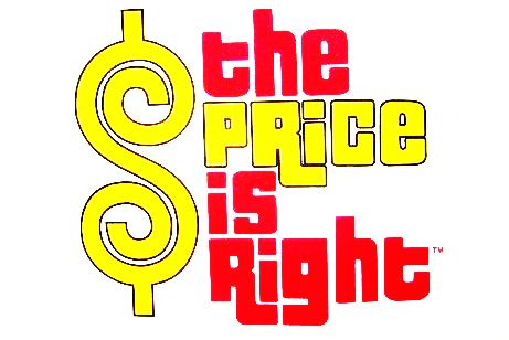 price is right logo font Quotes